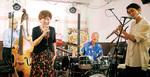 ジャズプロ出演者らによる即興セッションも行われた