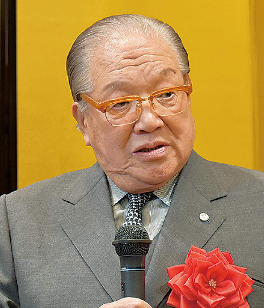 藤木幸夫会長