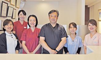 「スタッフ一同、患者様の立場に立った診療を心がけています」