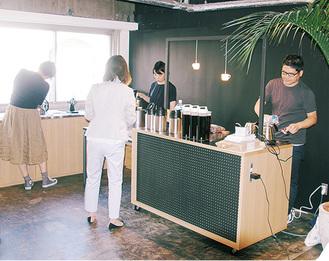 コーヒーをツールにコミュニティを活性