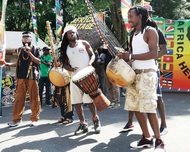 MMでアフリカ祭り初開催