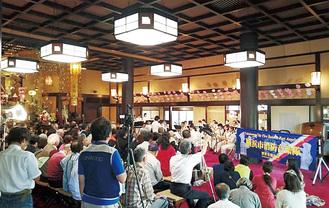妙香寺で毎年開催されているコンサート