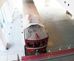 ミュージアムに展示される車両