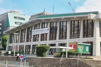 横浜文化体育館、ファイナル告知看板も