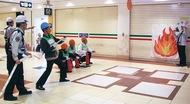 8事業所初の合同消防訓練