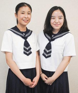 青木さん(右)、功刀さん(左)