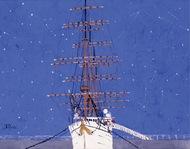 「星空と船」の展示 開催中