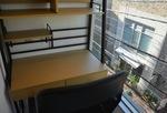 レンタルオフィスは全3部屋(写真は1人用)、全て個室。