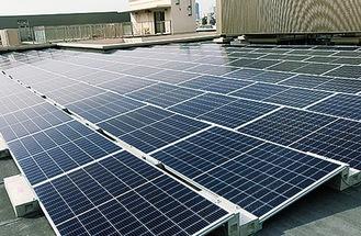 設置される太陽光発電パネルのイメージ=横浜市提供