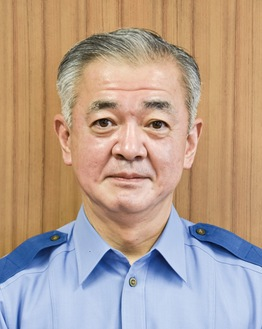 伊勢佐木警察署長川名 愛司さん