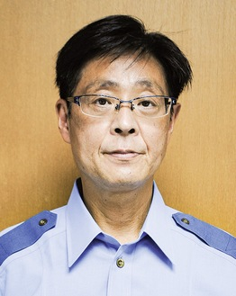 加賀町警察署長上原 正さん