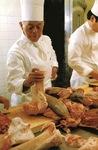 ホテルニューグランド2代目総料理長の入江シェフ。「ナポリタン」の生みの親でもある(同ホテル提供)