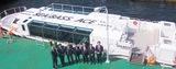横浜港に新型シーバス誕生