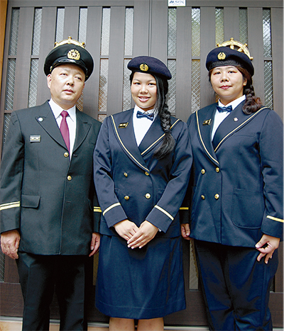 西消防団に初の女子高生
