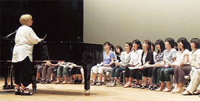 秦万里子女性コーラス隊参加者募集中
