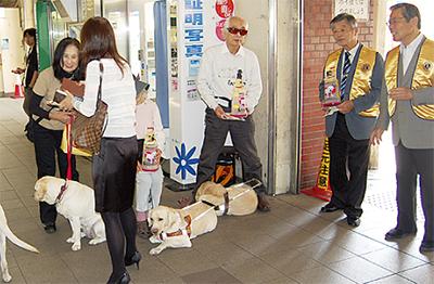 横浜LCが街頭募金