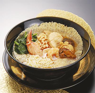 「元寶麺(げんぽうめん)」を食べて運気アップ