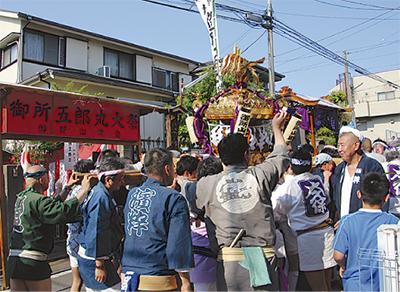 五郎丸を祭りで偲ぶ