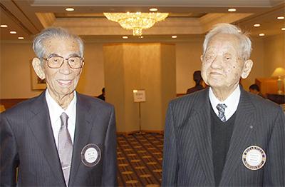 100歳会員 西堀さん祝う