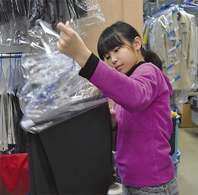 大和町商店街で職場体験