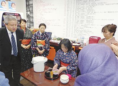 茶道と豆まきを初体験