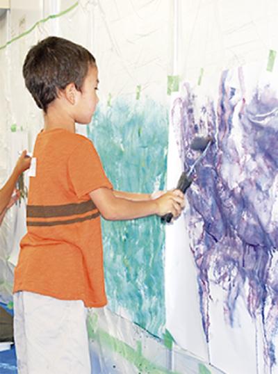 自由に絵画体験