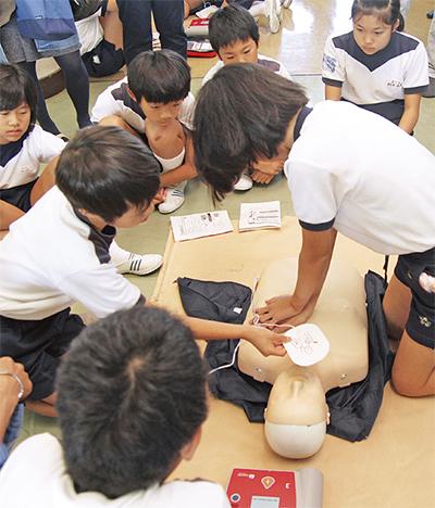 5年生 AED学ぶ