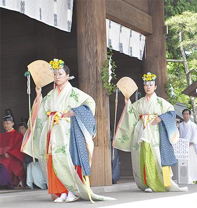 伊勢山皇大神宮で例祭