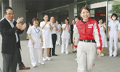 看護師がネパールへ出発