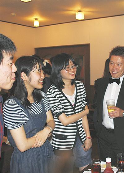 横浜の経営者と学生語る
