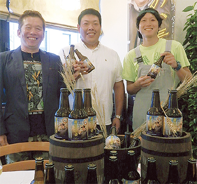 横浜産小麦のビール販売