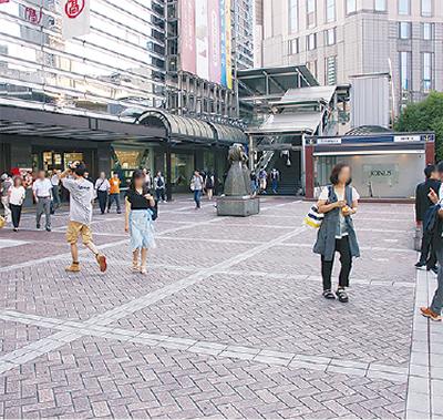 横浜駅西口が県内最高に