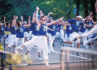 横浜舞台に踊ろう