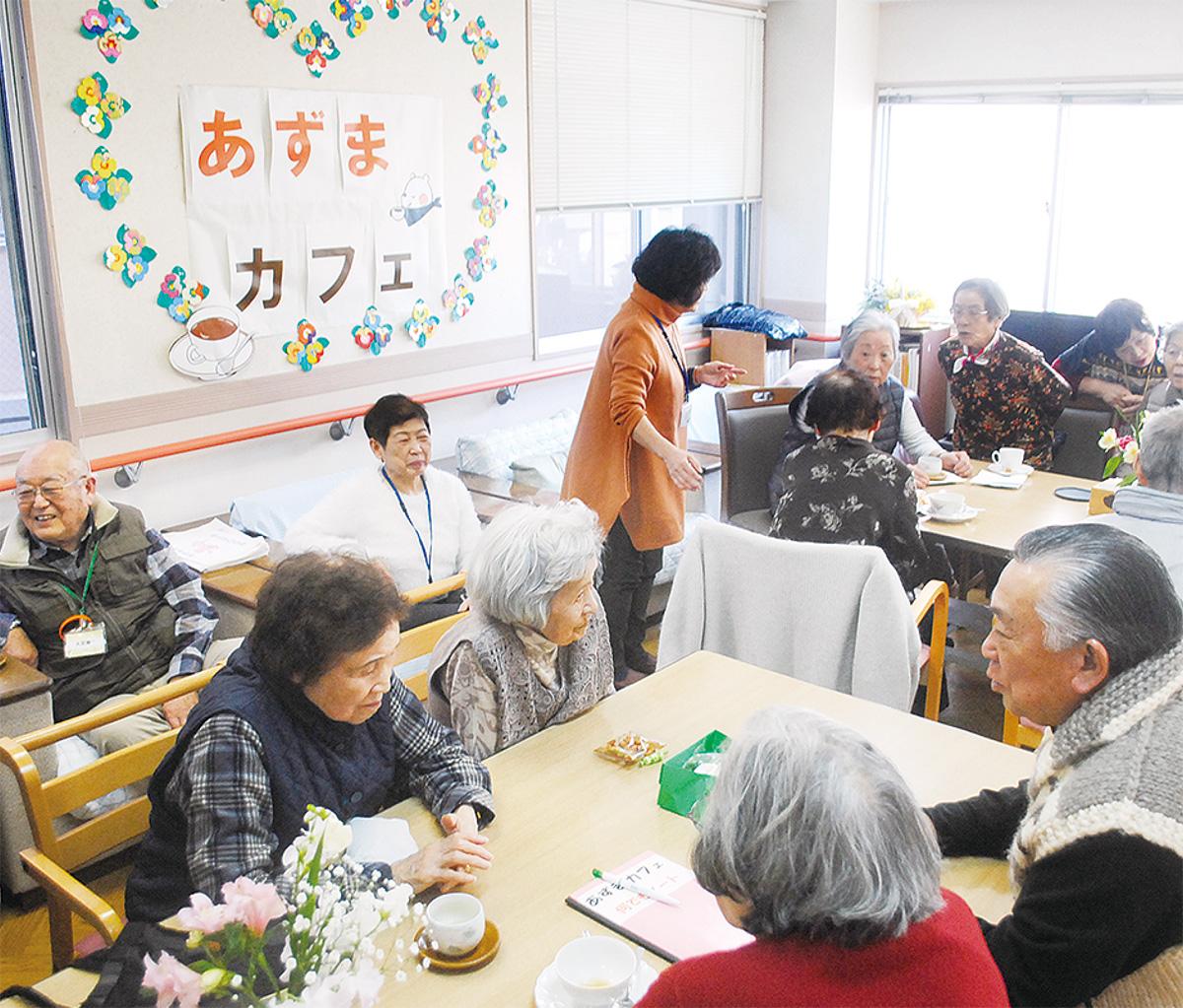 認知症患者から地域のボランティアまでさまざまな人が集う