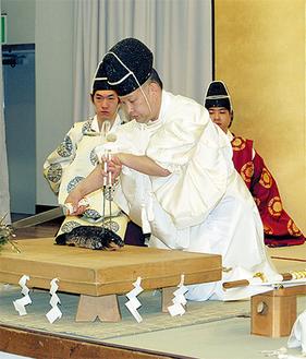 現代に伝わる伝統文化を生で見ることができる(写真は昨年)