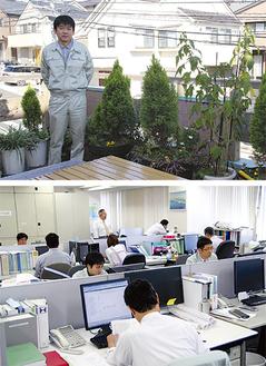 本田工務店(上)とアジア共同設計コンサルタント