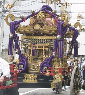 横浜随一の大神輿