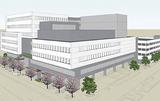 市が公表した庁舎の完成イメージ