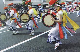 浜口さんの作品「東北六魂祭」