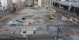 工事が始まった建設予定地