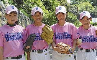 代表に選出された(左から)高橋さん、片山さん、小山内さん、前田さん