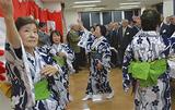 「六ツ川音頭」で盛り上がる祝賀会