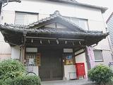 歴史的建造物に登録された会館の正面