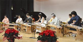 箏とピアノの楽曲も披露された昨年の様子