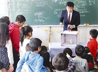 日枝小3年3組の授業