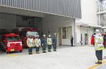 新設の蒔田消防出張所