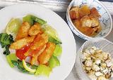 春野菜や鶏肉を使ったメニュー