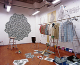 野老さんが使っていたBankARTのスタジオ(2006年、©BankART 1929)