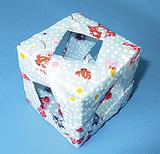 和紙で作った器