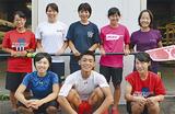 (前列右から時計回りに)黒沼さん、村松君、柴田さん、新井さん、大橋さん、関さん、家根田さん、佐々木さん